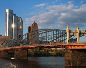 Pittsburgh, Pennsylvania bridges
