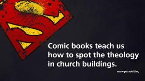 superheroes teach theology and divinity