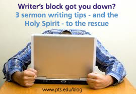 sermon-writers-block