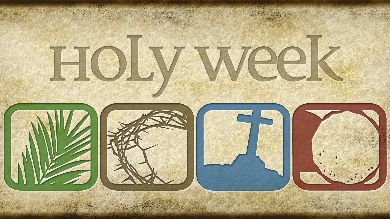 pastoral care during Holy Week