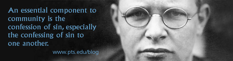 Bonhoeffer, community and sin