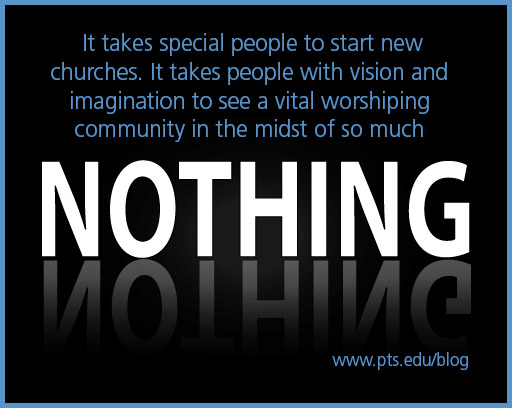 Church planting happens when visionaries see a community in the middle of nothing