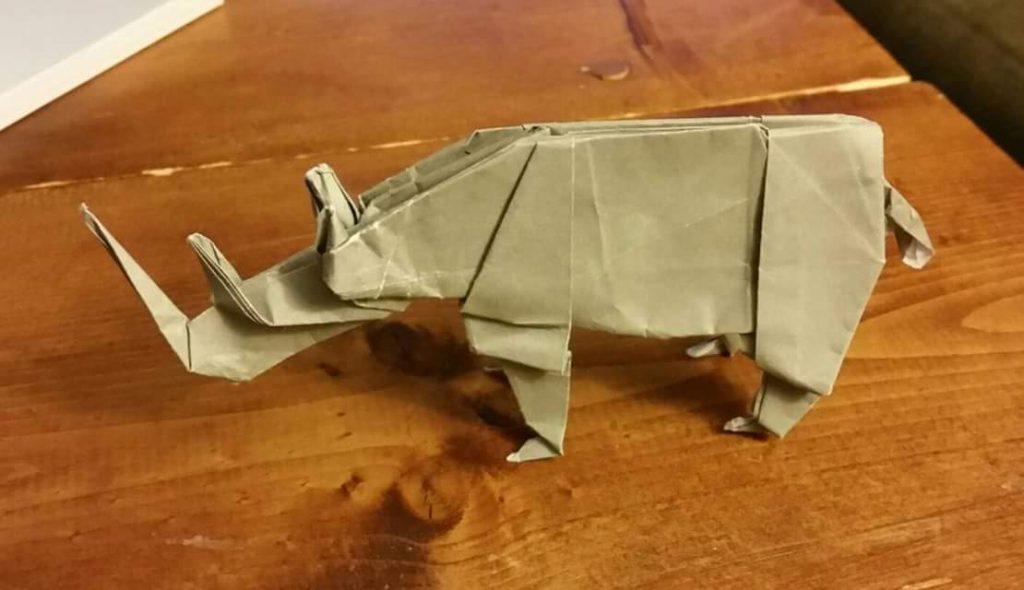 rigami as spiritual discipline rhino