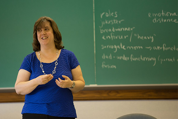 Leanna Fuller teaches pastoral care