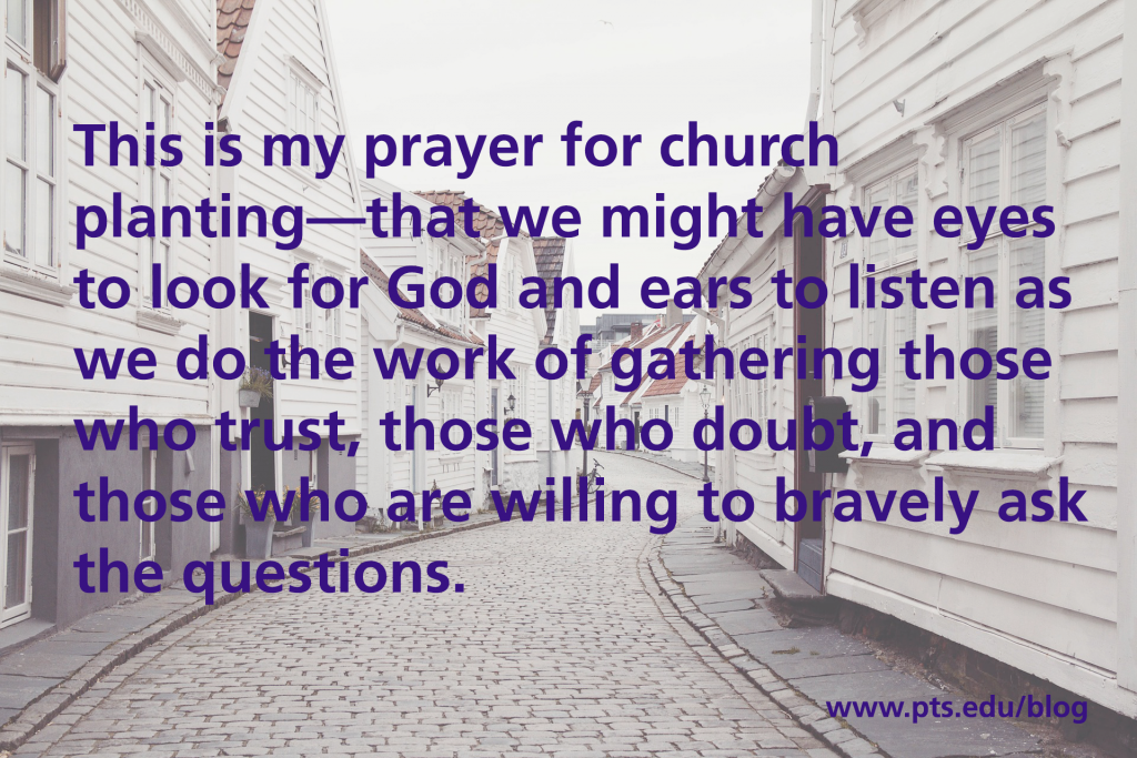 listen to God in church planting