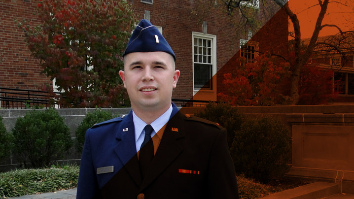 MDiv student Tyler Bayless looks toward future as military chaplain